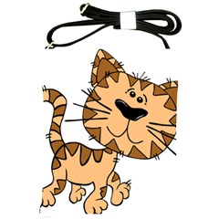 Cats Kittens Animal Cartoon Moving Shoulder Sling Bags