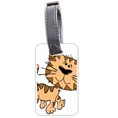 Cats Kittens Animal Cartoon Moving Luggage Tags (one Side)