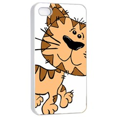 Cats Kittens Animal Cartoon Moving Apple Iphone 4/4s Seamless Case (white)