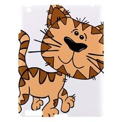 Cats Kittens Animal Cartoon Moving Apple Ipad 3/4 Hardshell Case