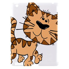 Cats Kittens Animal Cartoon Moving Apple Ipad 3/4 Hardshell Case (compatible With Smart Cover)