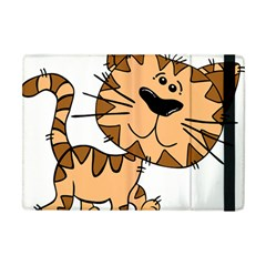 Cats Kittens Animal Cartoon Moving Apple Ipad Mini Flip Case