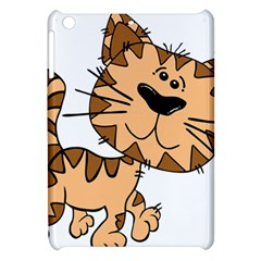 Cats Kittens Animal Cartoon Moving Apple Ipad Mini Hardshell Case