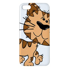 Cats Kittens Animal Cartoon Moving Apple Iphone 5 Premium Hardshell Case