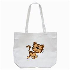 Cats Kittens Animal Cartoon Moving Tote Bag (white)