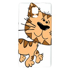 Cats Kittens Animal Cartoon Moving Galaxy Note 4 Back Case
