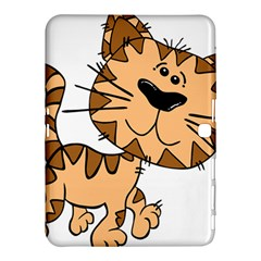 Cats Kittens Animal Cartoon Moving Samsung Galaxy Tab 4 (10 1 ) Hardshell Case