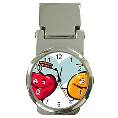 Dancing Fruit Apple Organic Fruit Money Clip Watches by Simbadda