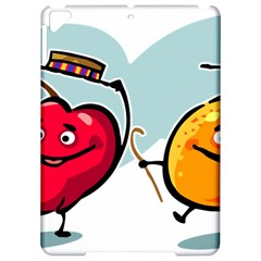 Dancing Fruit Apple Organic Fruit Apple Ipad Pro 9 7   Hardshell Case by Simbadda