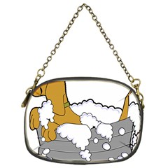 Dog Bath Grooming Chain Purses (one Side)