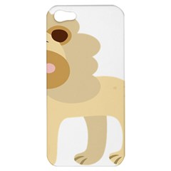 Lion Cute Sketch Funny Apple Iphone 5 Hardshell Case
