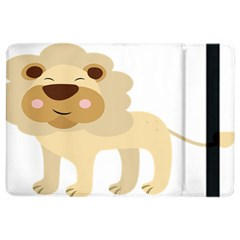 Lion Cute Sketch Funny Ipad Air 2 Flip by Simbadda