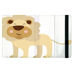 Lion Cute Sketch Funny Apple Ipad Pro 9 7   Flip Case by Simbadda