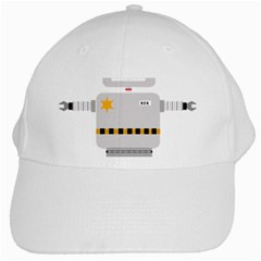 Robot Technology Robotic Animation White Cap