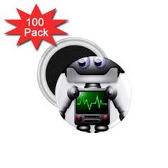 Robot 1 75  Magnets (100 Pack)
