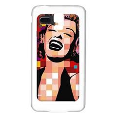 Phone Case Marilyn Monroe Samsung Galaxy S5 Back Case (white)