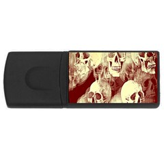 Skullsspooky Bywhacky Rectangular Usb Flash Drive by bywhacky
