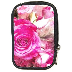 Rose Watercolour Bywhacky Compact Camera Cases by bywhacky