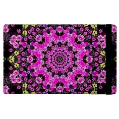 Namaste Decorative Flower Pattern Of Floral Apple Ipad 3/4 Flip Case by pepitasart
