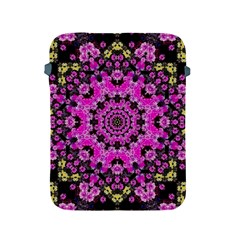 Namaste Decorative Flower Pattern Of Floral Apple Ipad 2/3/4 Protective Soft Cases