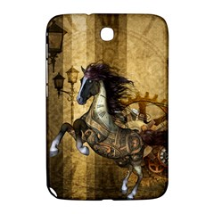 Awesome Steampunk Horse, Clocks And Gears In Golden Colors Samsung Galaxy Note 8 0 N5100 Hardshell Case