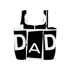 Cool Dad Typography Full Print Recycle Bags (s)  by yoursparklingshop