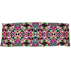 Multicolored Abstract Geometric Pattern Body Pillow Case Dakimakura (two Sides) by dflcprints