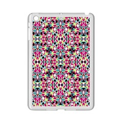 Multicolored Abstract Geometric Pattern Ipad Mini 2 Enamel Coated Cases by dflcprints