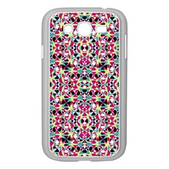 Multicolored Abstract Geometric Pattern Samsung Galaxy Grand Duos I9082 Case (white) by dflcprints
