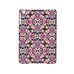 Multicolored Abstract Geometric Pattern Ipad Mini 2 Hardshell Cases by dflcprints