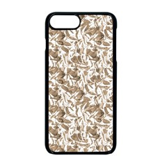 Leaves Texture Pattern Apple Iphone 8 Plus Seamless Case (black) by dflcprints