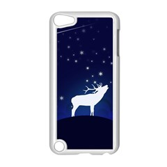 Design Painting Sky Moon Nature Apple Ipod Touch 5 Case (white) by Simbadda