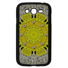 Sunshine And Silver Hearts In Love Samsung Galaxy Grand Duos I9082 Case (black) by pepitasart