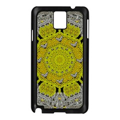 Sunshine And Silver Hearts In Love Samsung Galaxy Note 3 N9005 Case (black) by pepitasart