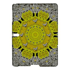 Sunshine And Silver Hearts In Love Samsung Galaxy Tab S (10 5 ) Hardshell Case  by pepitasart