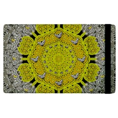 Sunshine And Silver Hearts In Love Apple Ipad Pro 9 7   Flip Case by pepitasart
