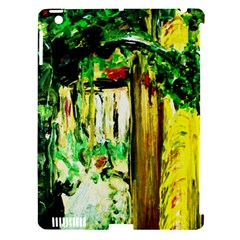 Old Tree And House With An Arch 4 Apple Ipad 3/4 Hardshell Case (compatible With Smart Cover) by bestdesignintheworld