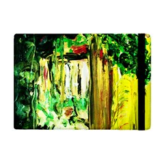 Old Tree And House With An Arch 4 Apple Ipad Mini Flip Case by bestdesignintheworld