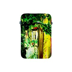 Old Tree And House With An Arch 4 Apple Ipad Mini Protective Soft Cases
