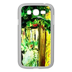 Old Tree And House With An Arch 4 Samsung Galaxy Grand Duos I9082 Case (white) by bestdesignintheworld