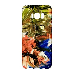 Pagoda And Calligraphy Samsung Galaxy S8 Hardshell Case  by bestdesignintheworld