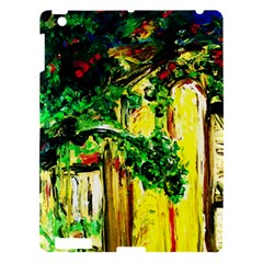 Old Tree And House With An Arch 2 Apple Ipad 3/4 Hardshell Case by bestdesignintheworld