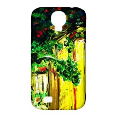 Old Tree And House With An Arch 2 Samsung Galaxy S4 Classic Hardshell Case (pc+silicone) by bestdesignintheworld
