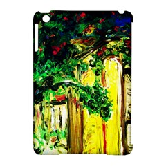 Old Tree And House With An Arch 2 Apple Ipad Mini Hardshell Case (compatible With Smart Cover) by bestdesignintheworld
