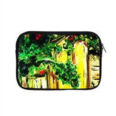 Old Tree And House With An Arch 2 Apple Macbook Pro 15  Zipper Case by bestdesignintheworld