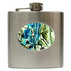 Clocls And Watches 3 Hip Flask (6 Oz) by bestdesignintheworld
