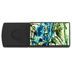 Clocls And Watches 3 Rectangular Usb Flash Drive by bestdesignintheworld