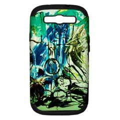 Clocls And Watches 3 Samsung Galaxy S Iii Hardshell Case (pc+silicone) by bestdesignintheworld
