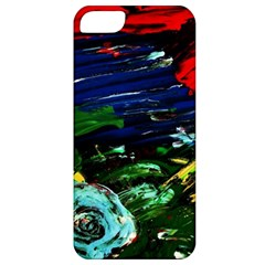 Tumble Weed And Blue Rose 1 Apple Iphone 5 Classic Hardshell Case by bestdesignintheworld