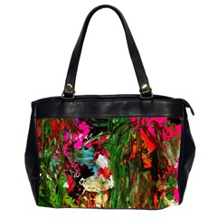 Sunset In A Mountains 1 Office Handbags (2 Sides)  by bestdesignintheworld